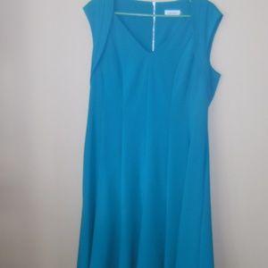 Turquoise Evening Dress